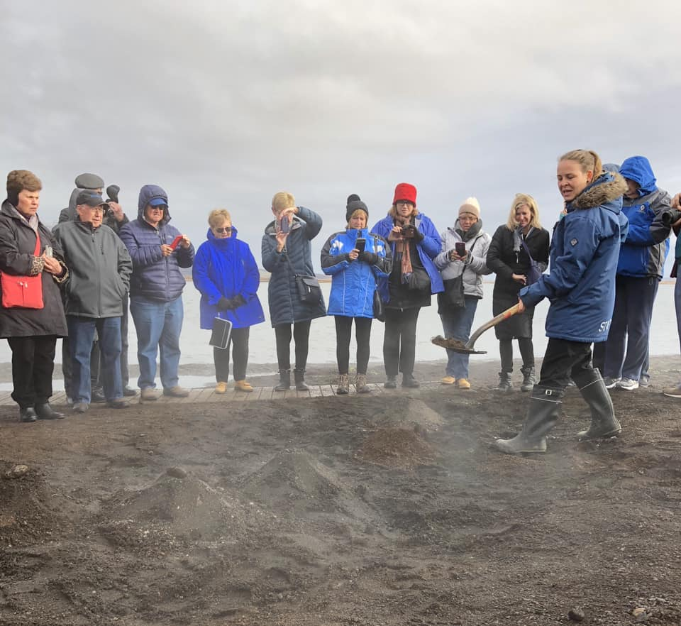Iceland Trip Photo - Burying Bread - 10.16.18