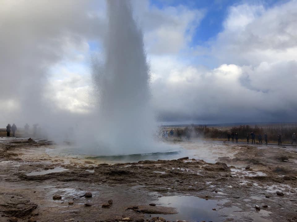 Iceland Trip Photo - Geyser - 10.16.18