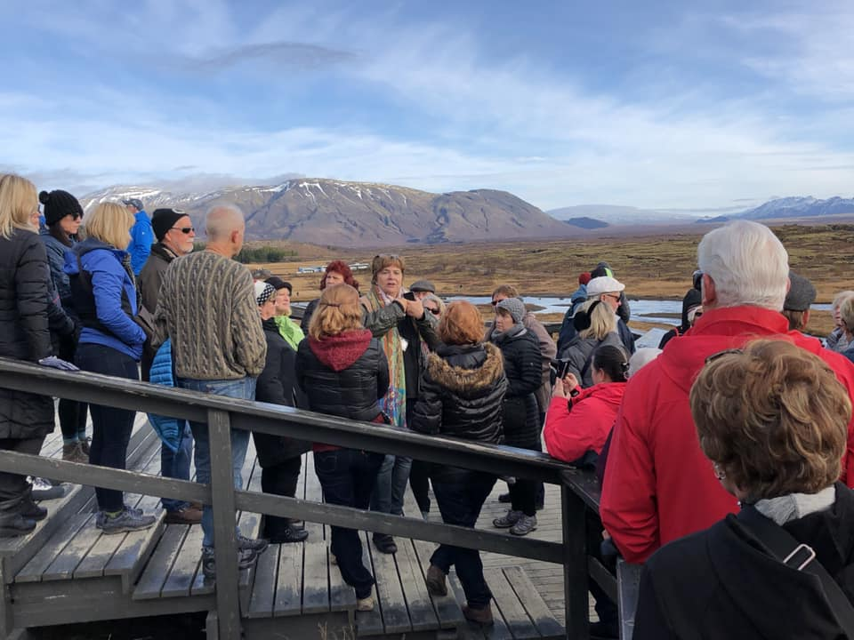 Iceland Trip Photo - Group Hike - 10.16.18