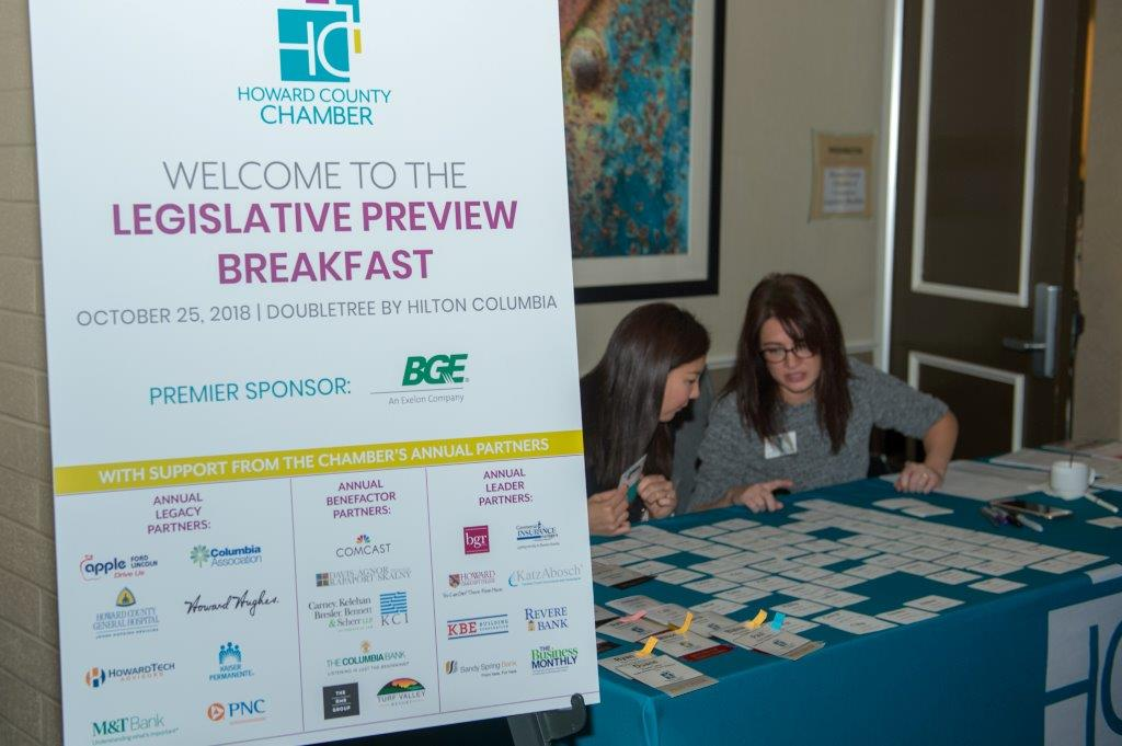 Pam Long Photography Howard County Chamber Legislative Preview Breakfast 2018-5