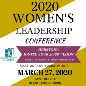 Save the Date Women's Leadership Conference