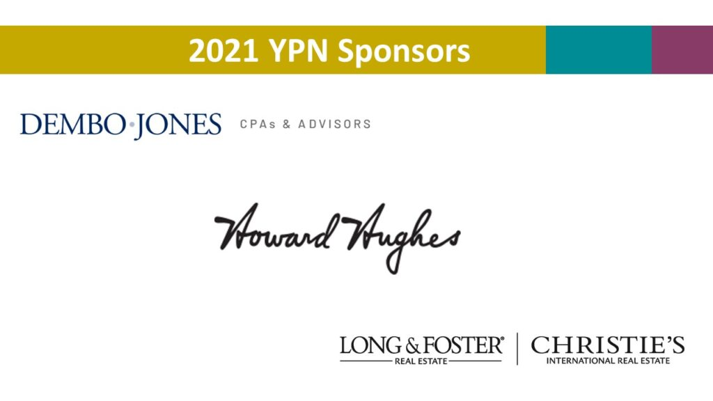 YPN sponsor collage
